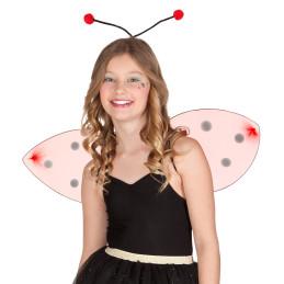Set Ladybug (tiare et ailes)