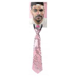 Cravate sequin ROSE