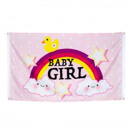 Drapeau polyester Baby girl...