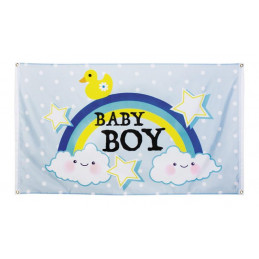 Drapeau polyester Baby boy...
