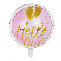 Ballon foil Hello Girl!...