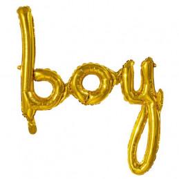 Ballon foil Or Boy 70 x 60 cm