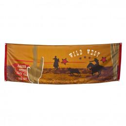 Bannière 'Wild West' (220 x...