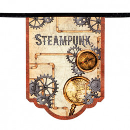Guirlande Steampunk 4m PROMO