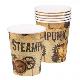Set 6 Gobelets Steampunk...