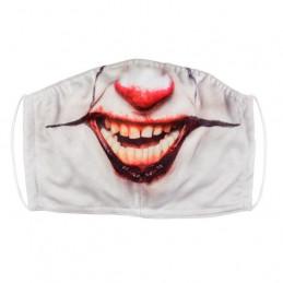 Masque facial Clown monstre