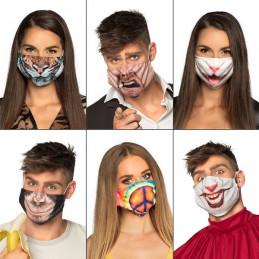 Masque facial 6 modèles...