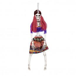 Decoration Squelette gitane...