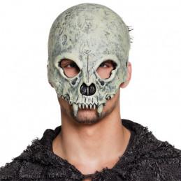 Demi-masque mousse Crâne