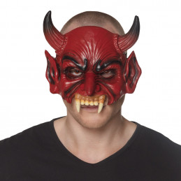 Demi-masque mousse Diable