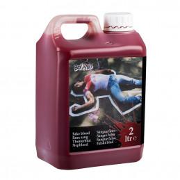 Jerrycan faux sang (2000 ml)
