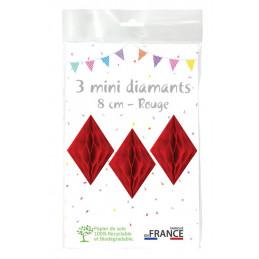 3 minis diamants 8 cm...