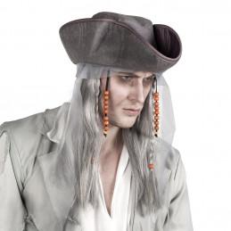 Perruque Ghost pirate avec...