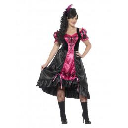 Costume danseuse saloon,...