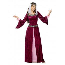 Costume  Marion, bordeaux,...