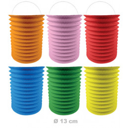 Lampion cylindrique 13cm...