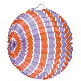 Lampion ballon 22cm tricolore