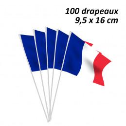 Sachet 100 drapeaux papier...