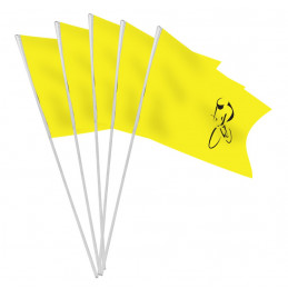 Sachet 10 drapeaux papier...