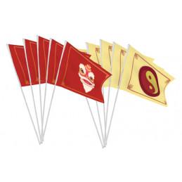Sachet de 10 drapeaux 9.5 x...