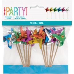 12 piques moulin à vent