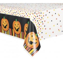 Smiling Pumpkin Tablecover...