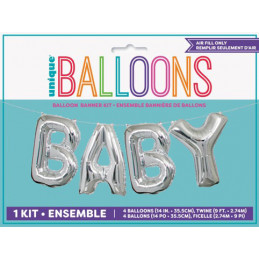 Guirlande ballons foil Baby...