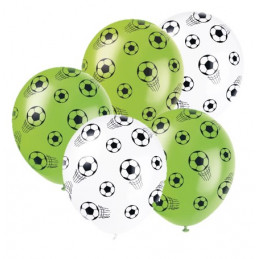 5 Ballons latex 30 cm...