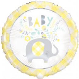 Ballon foil 45 cm Elephant...