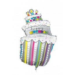 Ballon foil  HAPPY BIRTHDAY...