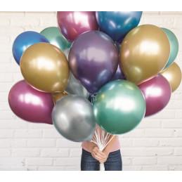 25 Ballons métalisés...