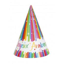 8 chapeaux pointus Joyeux...