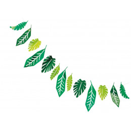 Guirlande feuilles 213cm...