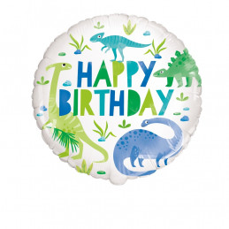 Ballon foil 45 cm Dinosaure