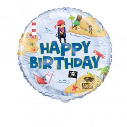 Ballon foil 45 cm HAPPY...