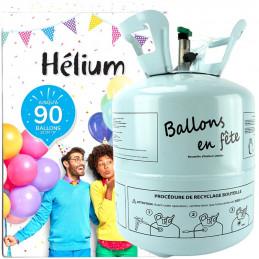 Bouteille hélium pour env....