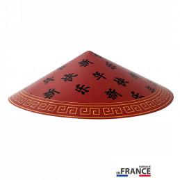 Chapeau Chinois ROUGE carton