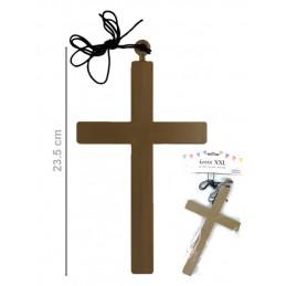 Croix  XXL plastique avec...