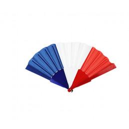 Eventail tricolore Bleu...