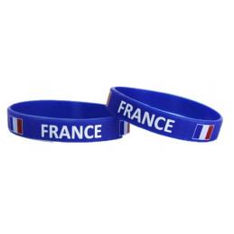 2 Bracelets silicones France