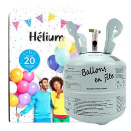 Bouteille hélium  20 ballons
