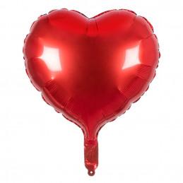 Ballon en aluminium Coeur...