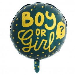 Ballon aluminium 'Boy or...