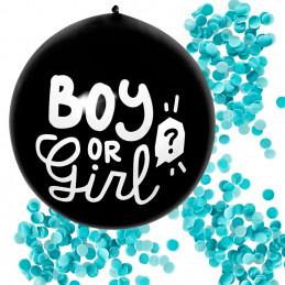 Ballon latex 60 cm  'BOY OR...