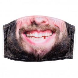 Masque facial Hipster