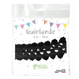 Guirlande zinnia 4m - Noire