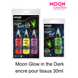 Encre pour tissus GLOW IN...