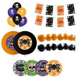 kit déco Halloween 15 pièces