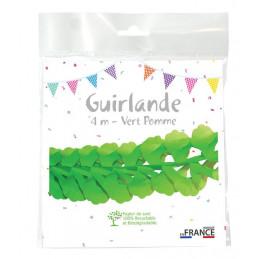 Guirlande zinnia 4m - Vert...
