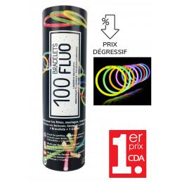 Glow Tube de 100 bracelets...